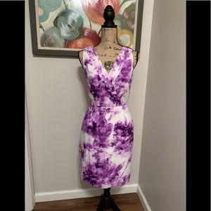 Pretty Banana Republic Purple Tie Dye Dress💕